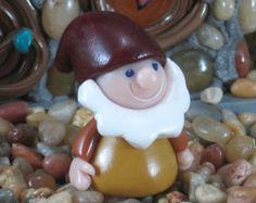 Happy the Dwarf for Fairy Garden OOAK handmade miniature, ornament