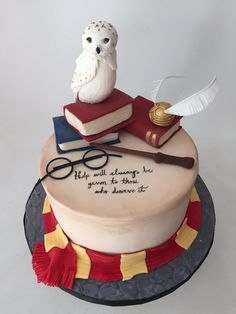 Book Birthday Cake 9 Wizarding Birthday Cakes For Harry Potter Bookstr