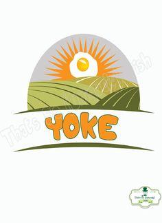 Irish slang 'Yoke' Irish Poster Colloquialism by ThatsSoIrish
