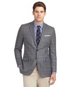Madison Fit District Check Sport Coat    $448.00