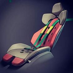 Bucket Seats, Transportation Design, Foto E Video, Concept Art, Car Seats, Cool Designs, Photoshop, Instagram, Pictures