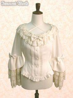 innocent world blouse in white