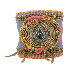 De Petra Bast Leather Bracelet