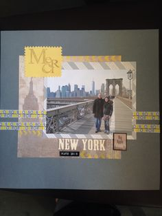 #new york #scrapbooking #travel #thank you