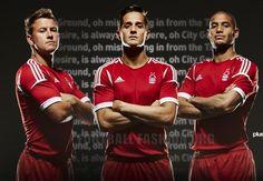 Nottingham Forest 2013/14 adidas Home Kit