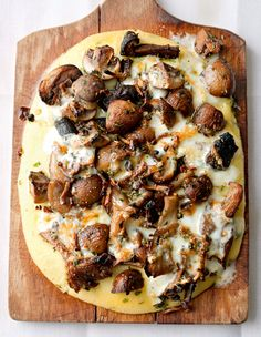 Mushroom and Herb Polenta from Plenty by Ottolenghi