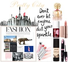 """Pretty City"" by beautydesk on Polyvore"
