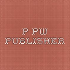 p.pw - Publisher