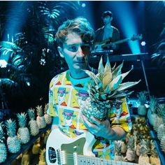 hey - pineapples are pretty great things. Music X, Music Love, Music Is Life, Band Pictures, Print Pictures, Foster The People, My Cup Of Tea, Glass Animals, Imagine Dragons