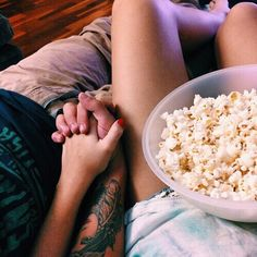 Movie days or nights on a stormy day with the boyfriend