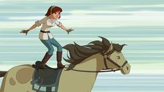 LenasRanch_4_Bild1 Le Ranch, Horse Animation, Speed Paint, Heartland, Animal Drawings, Sleeping Beauty, Spirit, Entertainment, Horses