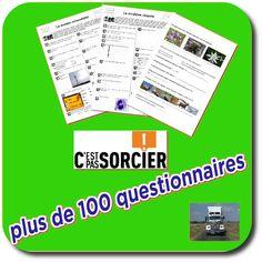 100 questionnaires sur c'est pas sorcier!!