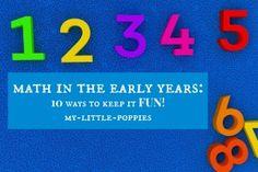 Homeschool Math 10 Ways to Keep it Fun!