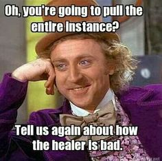 Don't blame the heals!