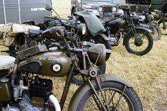 Military motorbikes