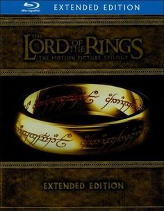 The Lord of the Rings Trilogy [WS] [Extended Edition] [15 Discs] [Blu-ray] - Front_Standard