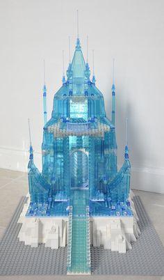 LEGO Ideas - Disney Elsa's Frozen Castle