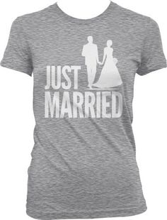 Just Married Couple In Love Passionate Marriage Wedding Juniors / Girls Size T-shirt Tee (Small, LIGHT GRAY) Tcombo,http://www.amazon.com/dp/B00BLW2V5S/ref=cm_sw_r_pi_dp_nCROrb0KC7K2MPXB