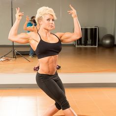 Dedicated to fit and muscular women.