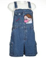 Blue Denim Short Dungarees - W36 Dungarees, Overalls, Denim Shorts, Overall Shorts, Blue Denim, Women, Fashion, Moda, Fashion Styles
