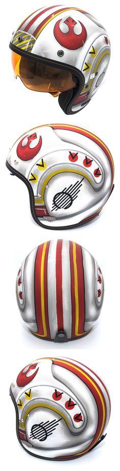 hjc is5 x wing fighter pilot motorcycle helmets 2