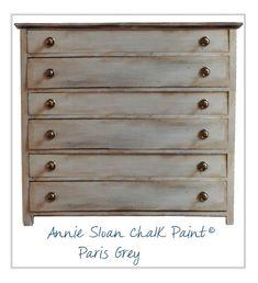 Painted Furniture Inspiration - ASCP Paris Grey