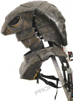 Jaffas Guard Serpent Helmet Side View