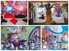 Decoração e doces da festa Alice no País das Maravilhas - Fotos: Sergio Magalhães