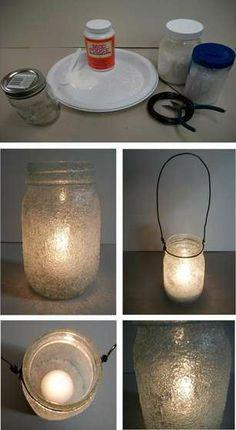 DIY Project: Icicle Mason Jars
