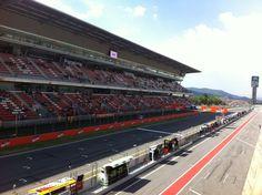 Circuit de Barcelona-Catalunya en Montmeló, Cataluña