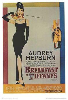 Breakfast at Tiffany's original movie poster