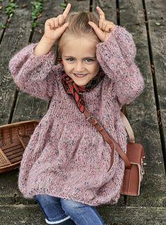 Платье-«фонарик» - схема вязания спицами. Вяжем Платья на Verena.ru