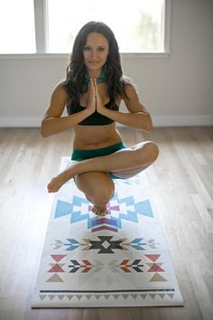 Azteca Yoga Mat – Vagabond-goods. I HAVE TO HAVE THIS MAT