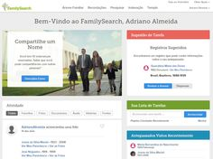 Você já notou se ao logar no www.FamilySearch.org a nossa inovadora página de boas-vindas já aparece ativa pra você? Acesse agora mesmo e veja se esta página beta_teste, com incríveis personalizações e informações específicas pra você, irá aparecer! #EncontreLeveEnsine #familysearch