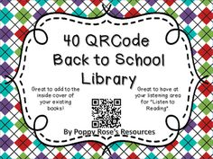 There are 40 QR Codes in the pack to use with your listening rotation. The codes…