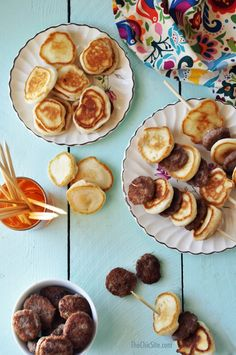Savory Breakfast Kabobs - Such a fun and easy breakfast to make with the kids!