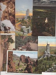 vintage postcards Colorado Springs