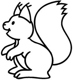 52 Best Squirrels To Color Images On Pinterest Coloring Books