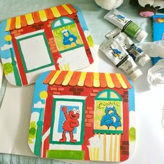 wip sesame street boards