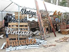 Tips for Exploring Brimfield Antique Show >> http://blog.diynetwork.com/maderemade/2014/05/16/antique-hunting-heaven-exploring-brimfield/?soc=pinterest