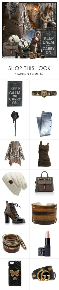 """""""Keep calm and carry on......"""" by pebbles78 ❤ liked on Polyvore featuring Ralph Lauren, Universal Lighting and Decor, Gucci, Levi's, See by Chloé, Vila Milano, Bruuns Bazaar, CC, Fontana Milano 1915 and Louis Vuitton"""