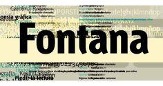 Tipografia Fontana. Dissenyada (1994/1995) per a la revista tipoGráfica.