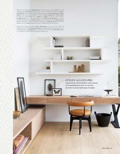 Leading 10 Stunning Home Office Style Home Office Space, Home Office Design, Home Office Furniture, Home Office Decor, Interior Design Living Room, Living Room Decor, Furniture Design, Home Decor, Office Style
