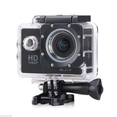 Flymemo F23 1080P Sport Camera NTK96650 Chipset/AR0330 Image Sensor/Full HD 30fps H.264/1.5 inches LCD Display/170 Degree Wide View Angle/30M Waterproof/Loop Recording Black -- Read more  at the image link. (This is an Amazon Affiliate link and I receive a commission for the sales)