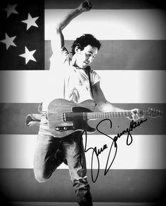Bruce Springsteen, The Boss.