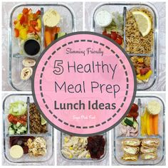 5 meal prep lunches that are perfect to take to work, with full shopping list Slimming world and weight watchers friendly lunches Slimming World Meal Prep, Slimming World Lunch Ideas, Easy Slimming World Recipes, Lunch To Go, Lunch Meal Prep, Healthy Meal Prep, Healthy Recipes, Lunch Box, Healthy Eating