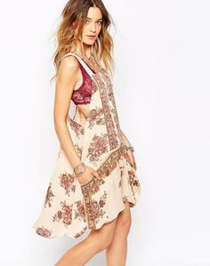 Free People Paradise Song Tunic In Print at asos.com #tunic #women #covetme