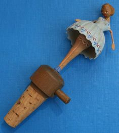 Dancing Ballerina Cork Stoppers, Bottle Stoppers, Wood Carvings, Benches, Ballerina, Thrifting, Hand Carved, Dancing, Cap