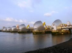 Thames Path east: The Thames Barrier