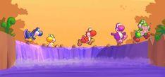 Super Mario Smash, Super Mario Bros, Video Game Art, Video Games, Doodle Cartoon, Super Mario World, Paper Mario, Green Dragon, Mario And Luigi